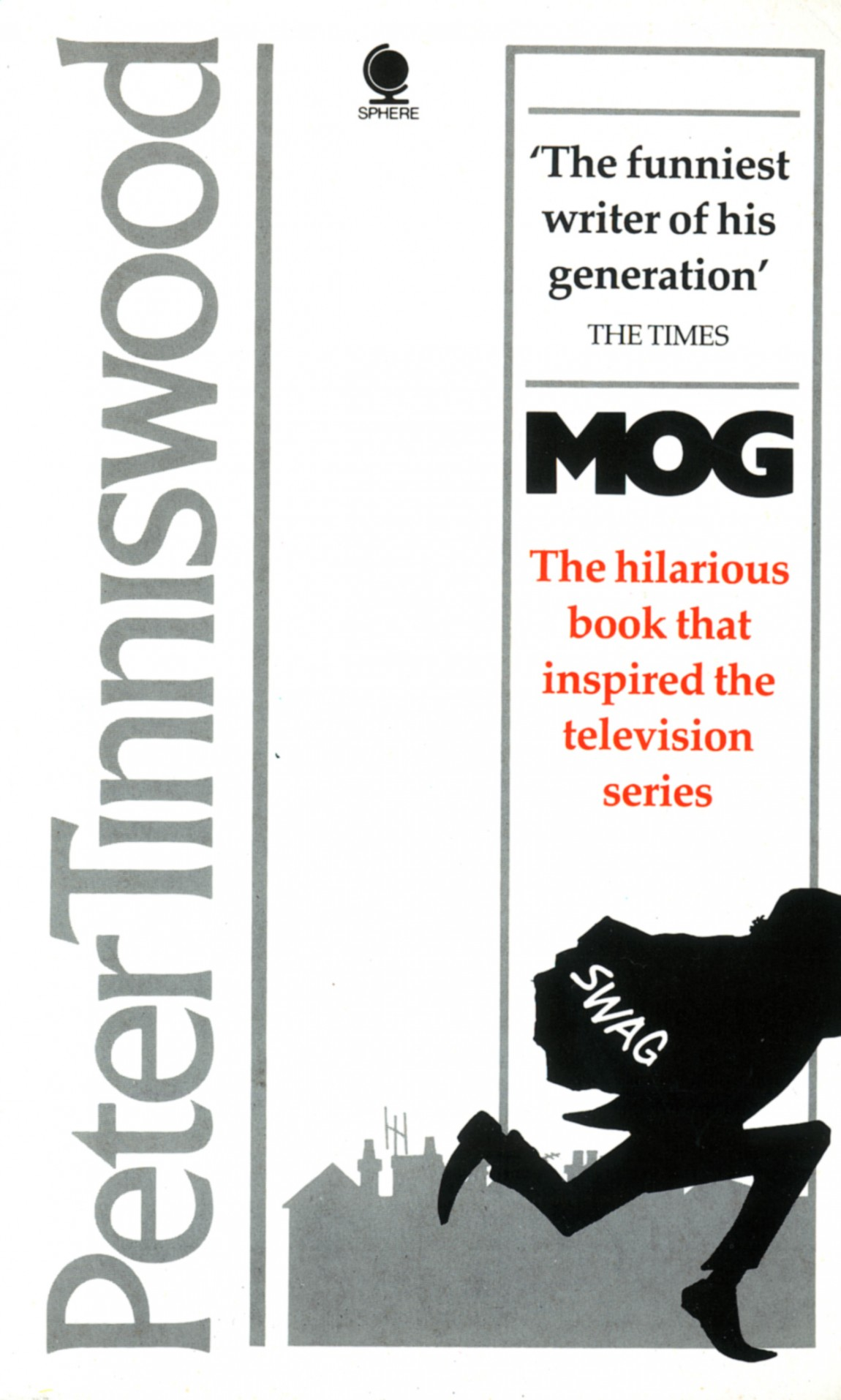 Cover design and illustration for Mog by Peter Tinniswood