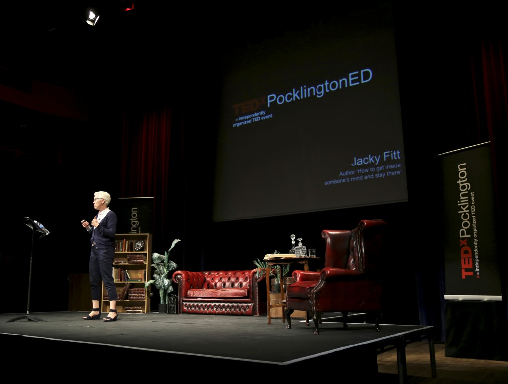 Jacky Fitt at TEDx Pocklington 2015