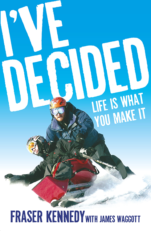 I've Decided Life is What You Make It - book design - Ned Hoste