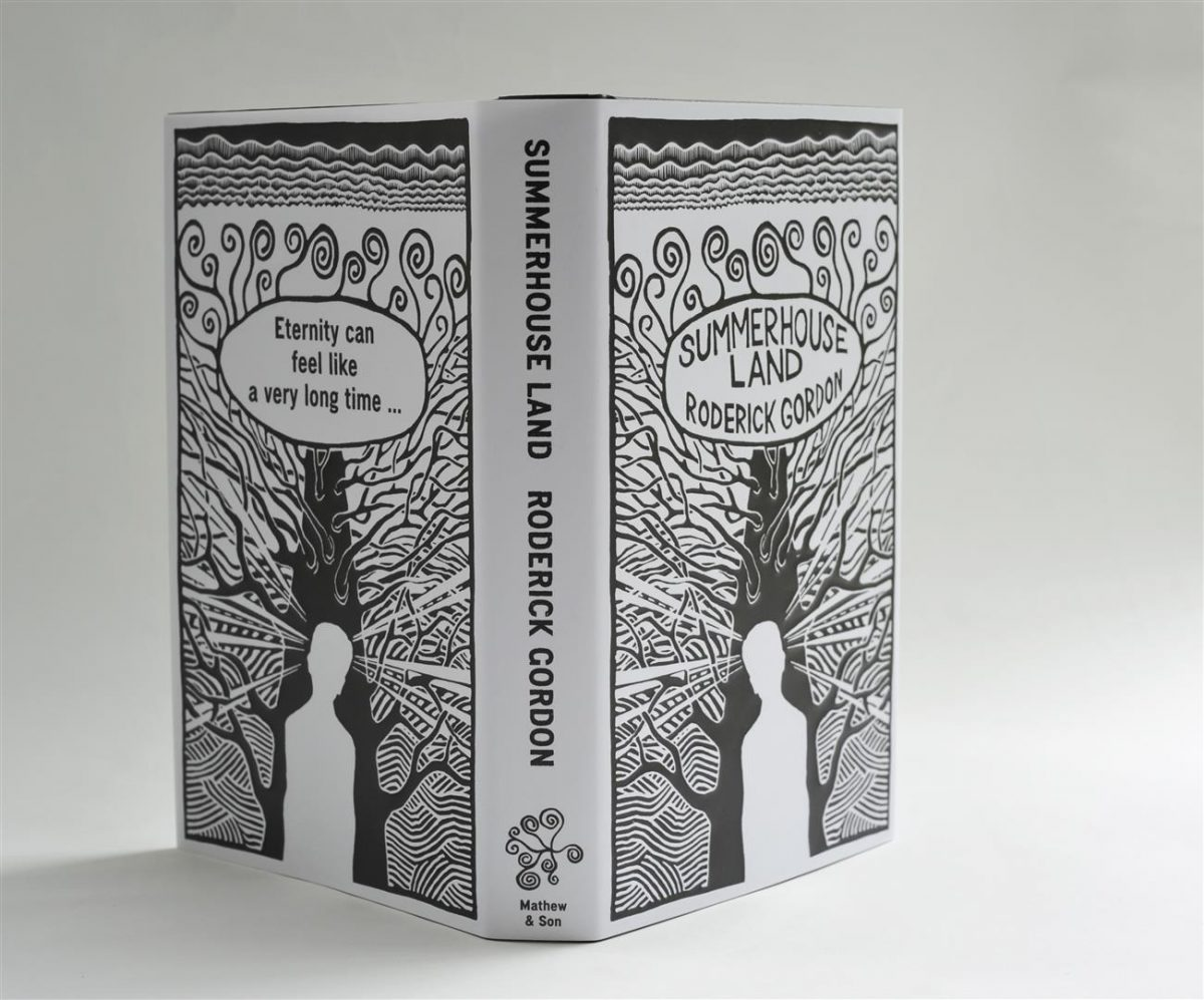 Summerhouse Land - book design by Ned Hoste