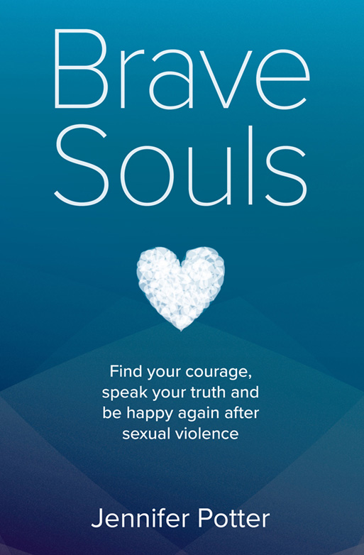 Brave Souls by Jennifer Potter | book design by Ned Hoste