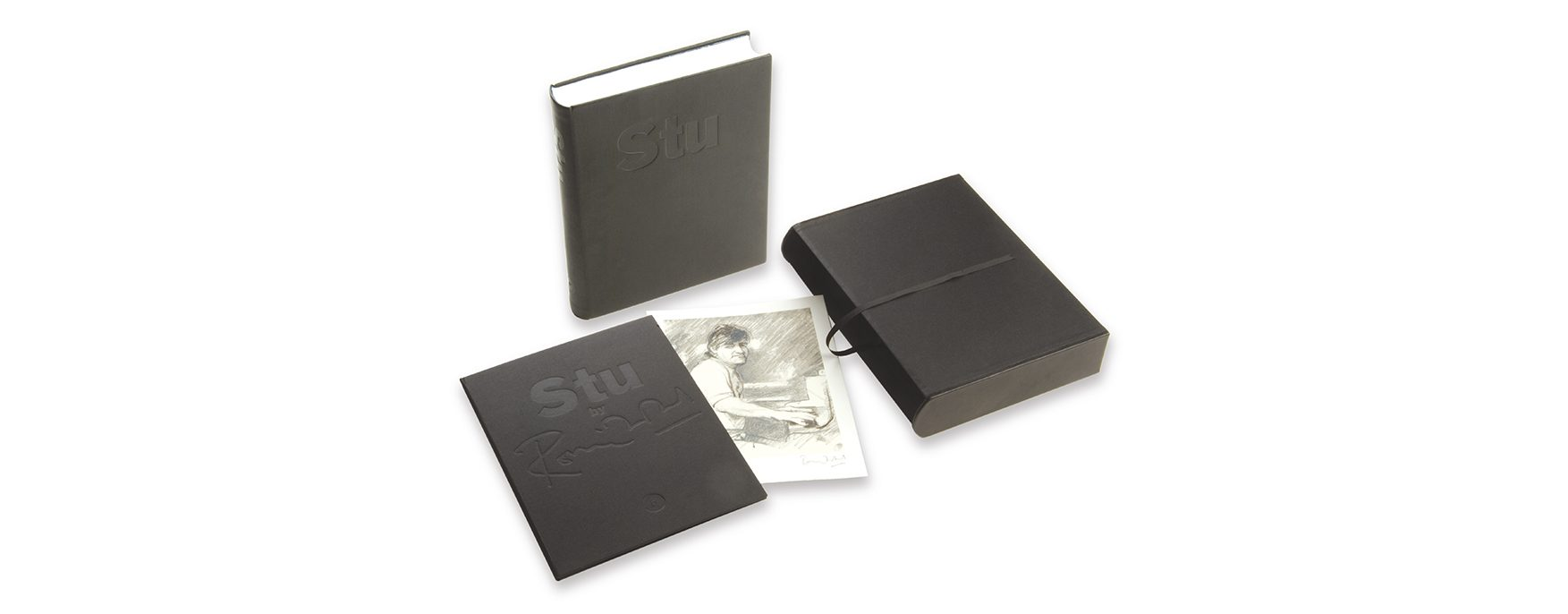 Limited edition private press book and print tribute Rolling Stone Ian Stuart | Out-take Limited