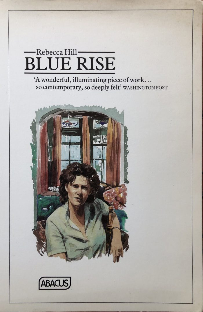 Blue Rise book cover proof