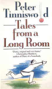 Cover design and illustration for Tales from a long room by Peter Tinniswood
