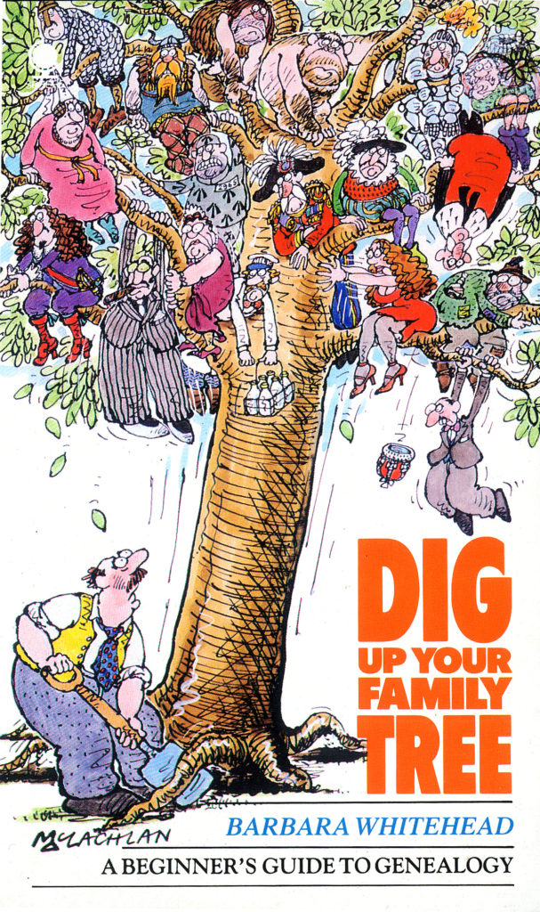 Dig up your family tree final cover