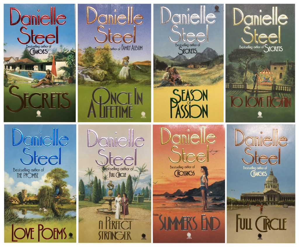 8 Danielle Steel covers